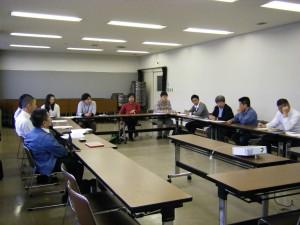 えひめICTチャレンジド事業組合5月例会の様子